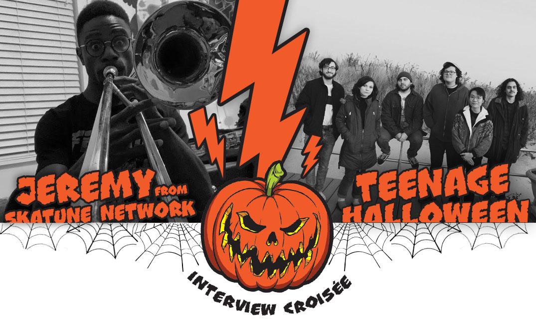 jeremy skatune network teenage halloween couverture