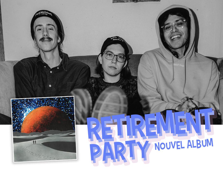 couverture retirement party